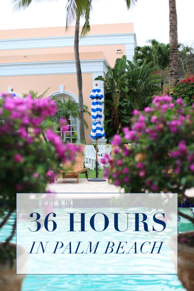 36 hours in Palm Beach