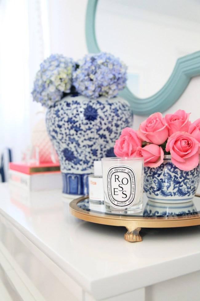 Ginger Jars in Julia Dzafic's home office