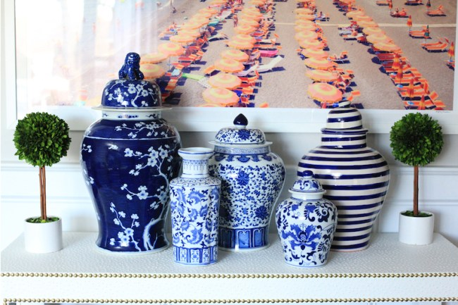Collection of Ginger Jars