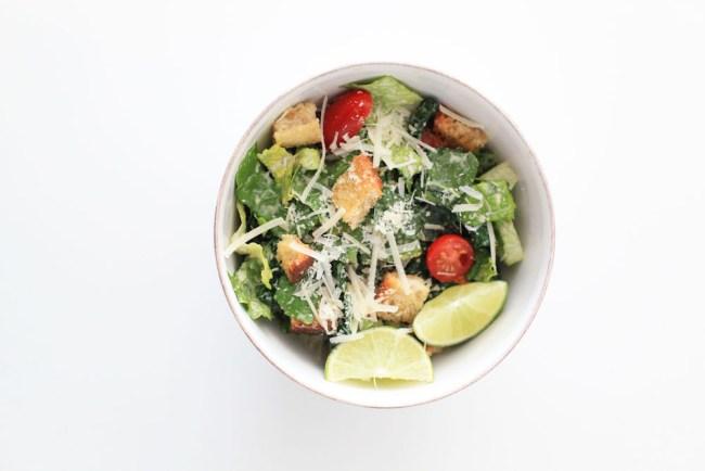 Kale Caesar Salad Recipe
