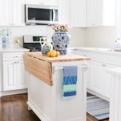 Ikea Kitchen Table Top Cost For New Cabinets Lemon Stripes Reveal