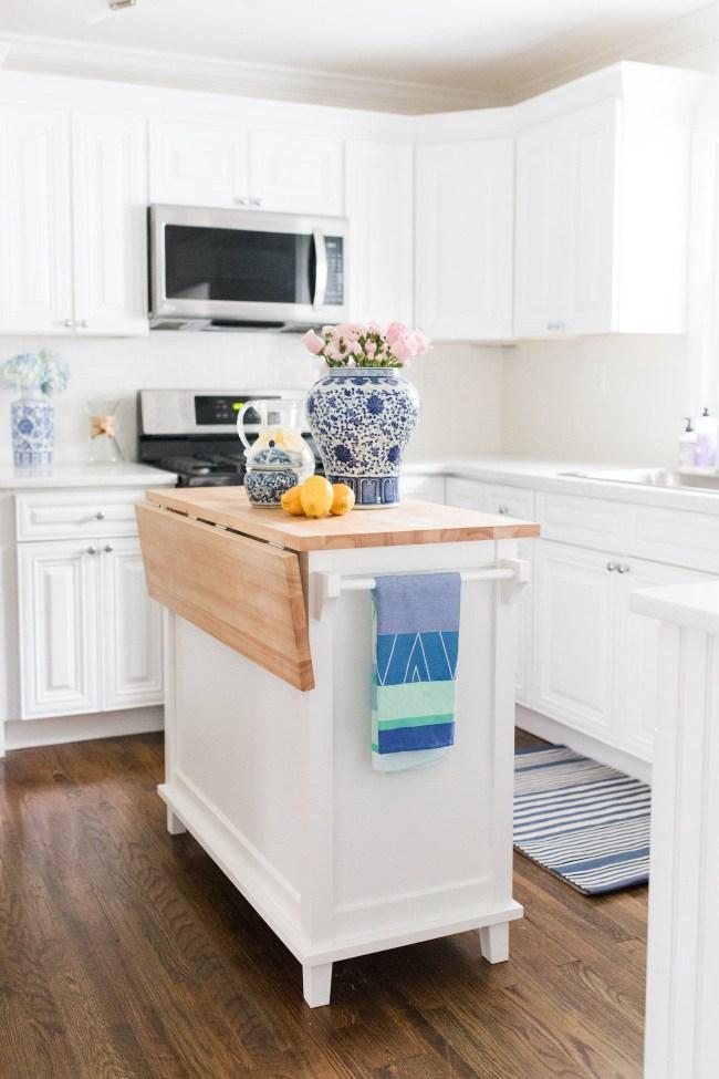 Lemon Stripes kitchen