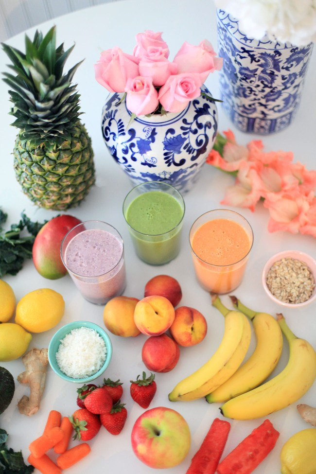 Three Protein-Packed Smoothies