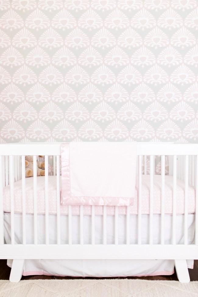 Julia Dzafic Baby Girl Crib