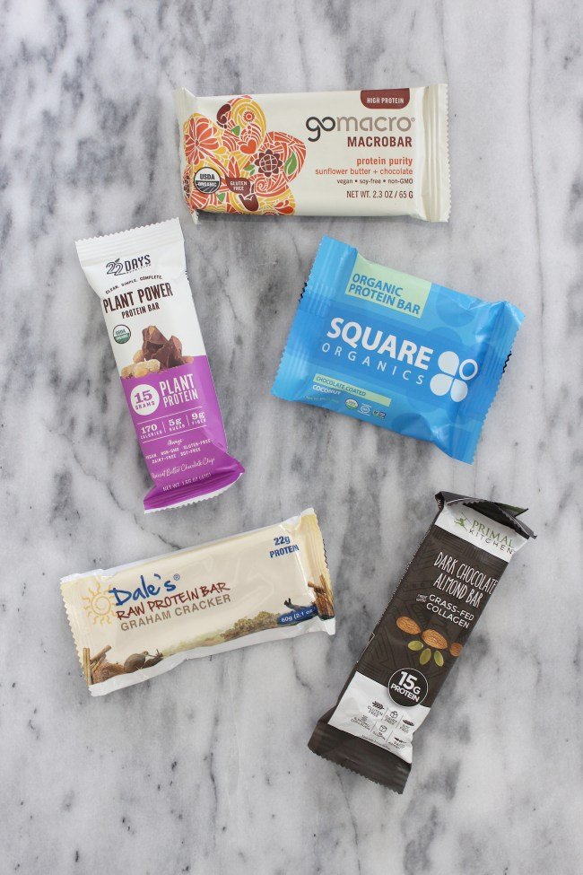 Nutritionist Approved Protein Bars