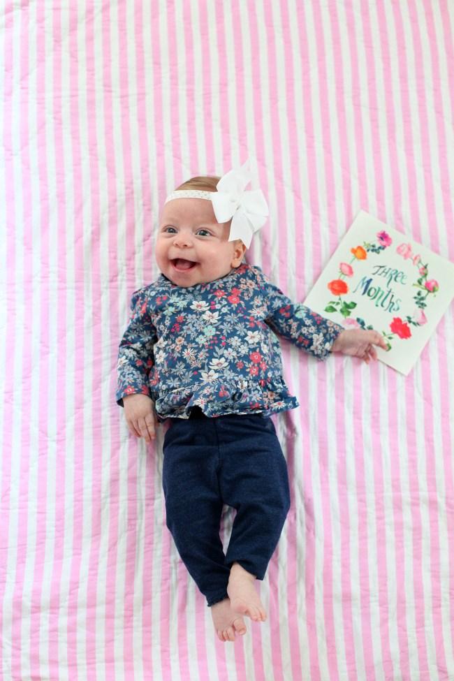 Amalia 3 months