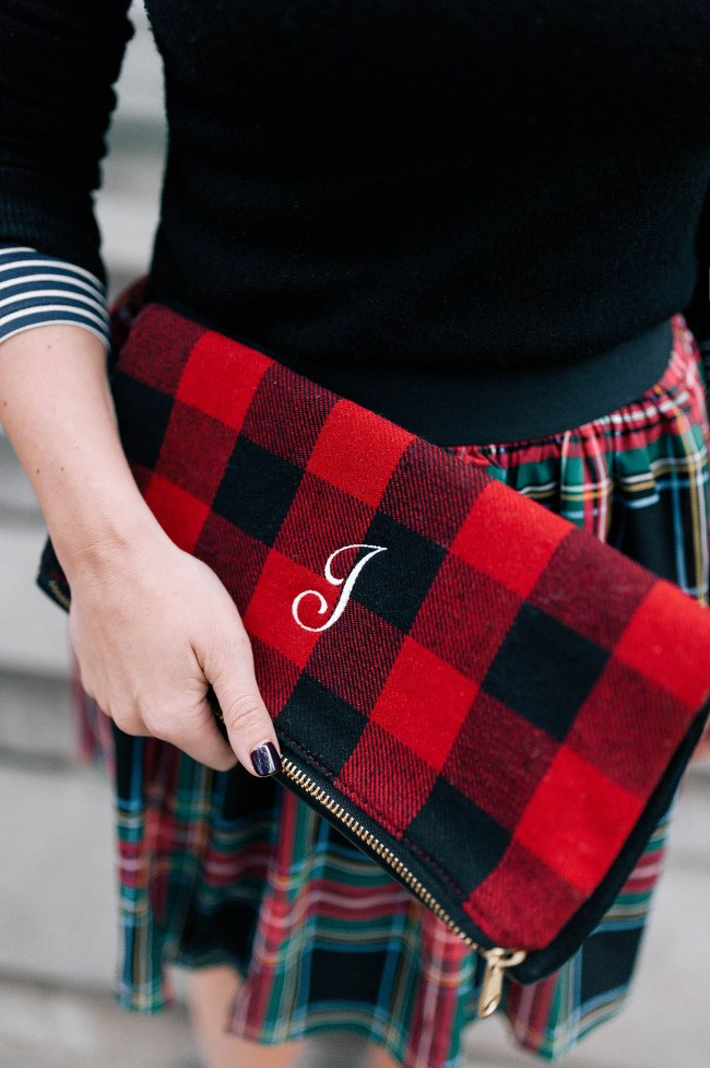 Mark and Graham Plaid Clutch
