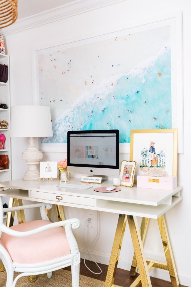 Julia Dzafic Desk in Home Office
