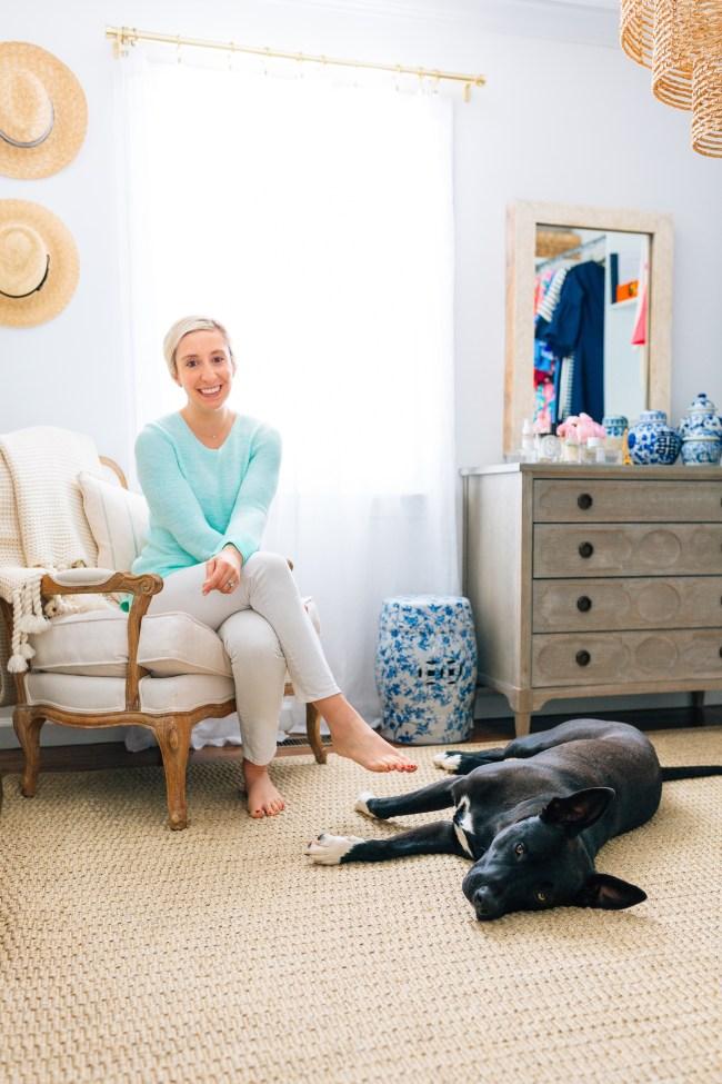 Julia Dzafic and Her Dog Boots