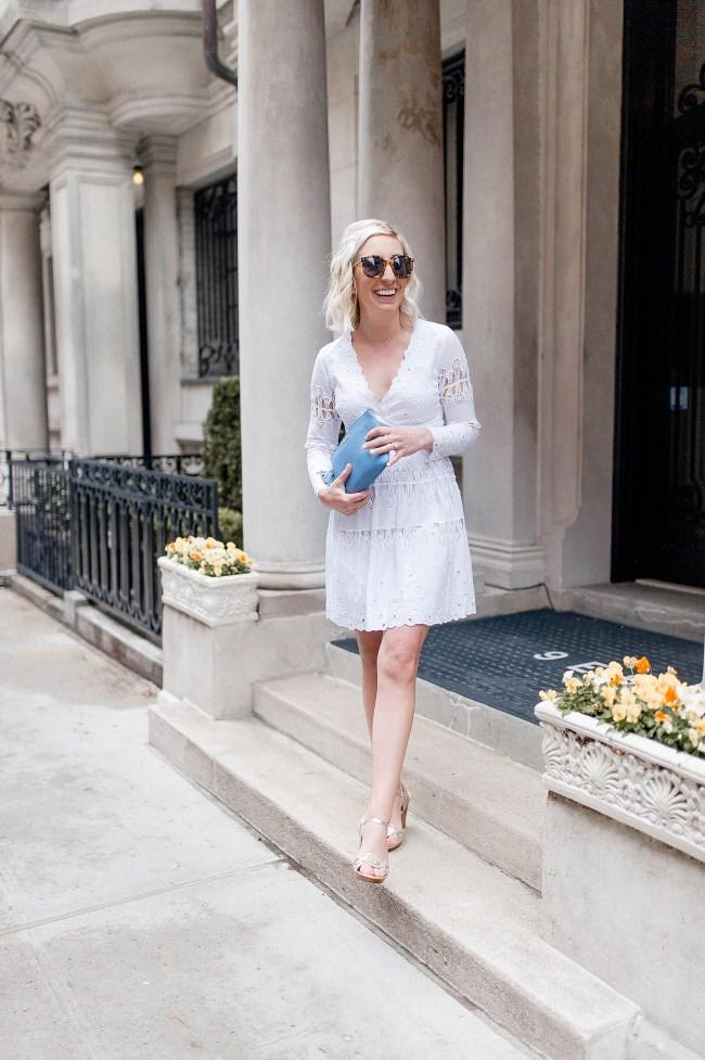 Sail to Sable White Dress