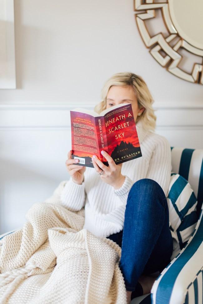 Outfit Book Club: Beneath a Scarlet Sky by Lemon Stripes