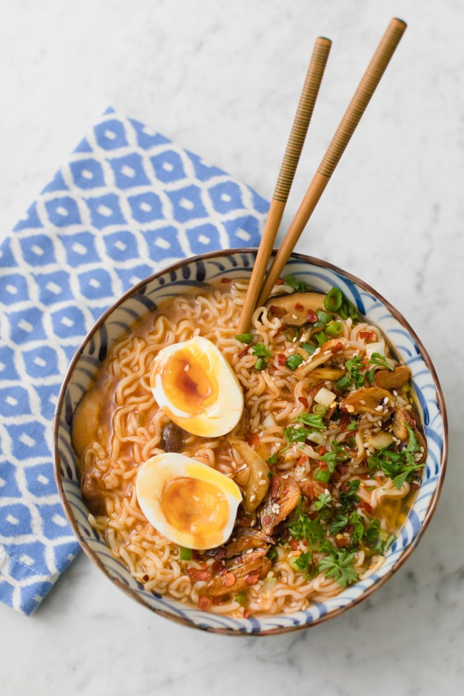 The best vegetarian ramen
