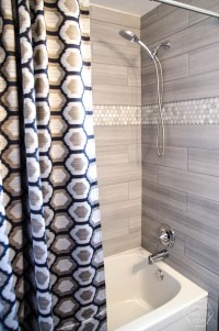 DIY Extra Long Custom Design Shower Curtain - Lemon Thistle