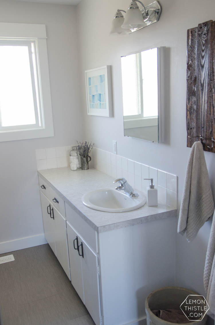 A Diy Bathroom Renovation (phase15)  Lemon Thistle