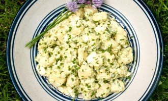 Potato Salad with Sorrel Dressing