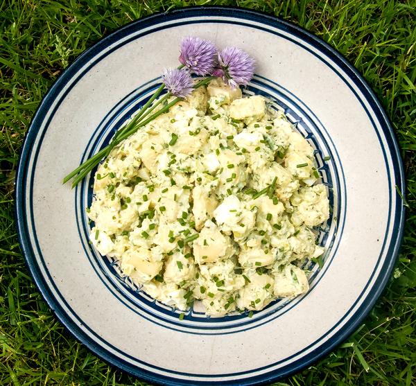 Potato Salad with Sorrel Dressing