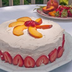 Gluten Free Nifty Cake made with an gluten free sponge cake recipe