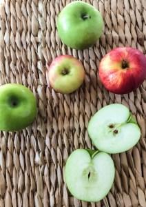 Apple Muffins with Lemon Glaze recipe
