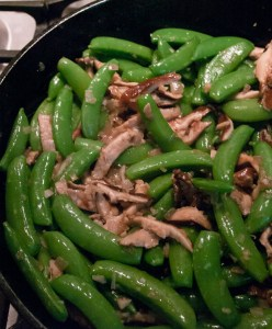 Sugar Snap Peas with Shiitake Mushrooms recipes