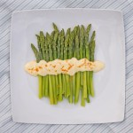 Asparagus with Orange Mayonnaise Dressing reicpe