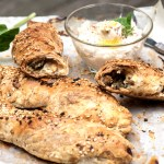Stuffed Pastry with Swiss Chard reicpe