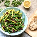 Green Bean Salad with Lemon Ginger Vinaigrette recipe