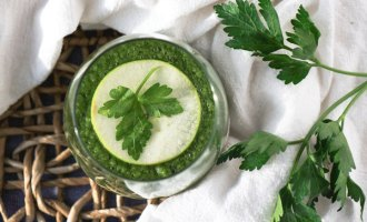 Parsley Juice, recipe