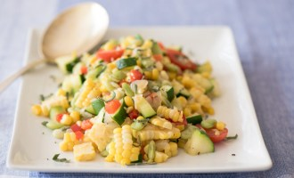 Simply Succotash, a recipe.