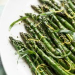 Early Spring Asparagus, a recipe.
