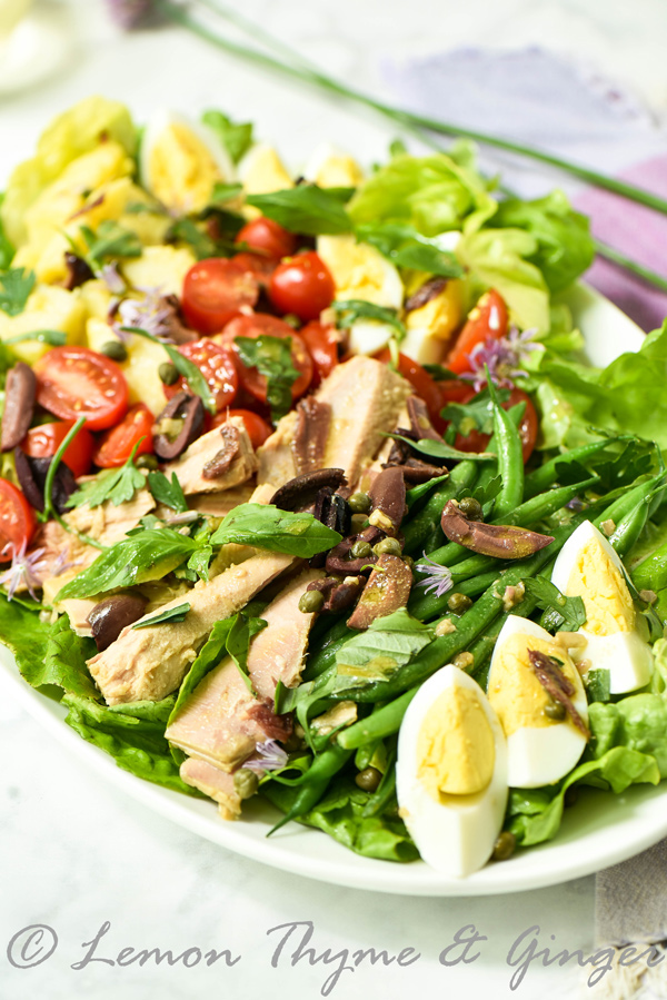 My Classic Nicoise Salad for Two and recipe.
