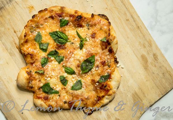 Four Cheese Pizza recipe