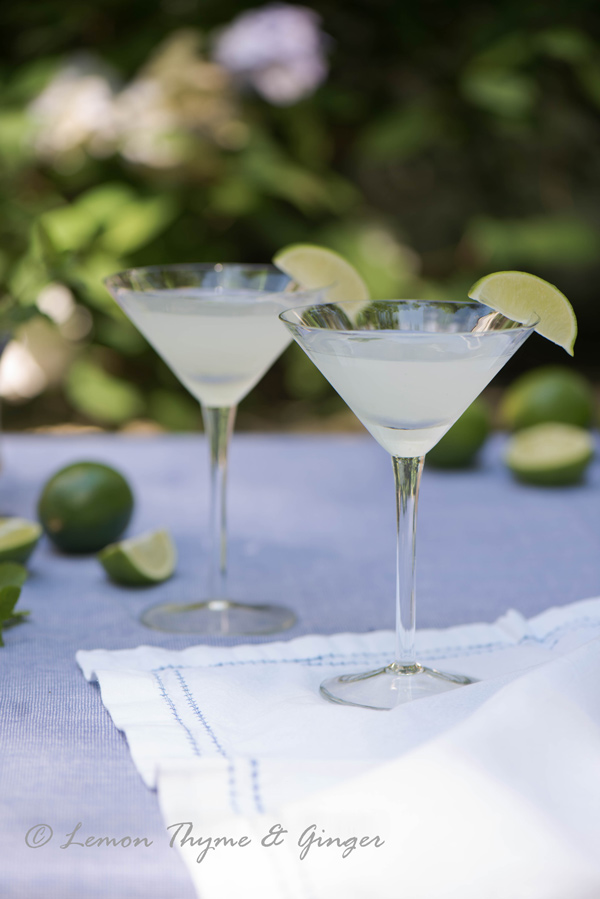Refreshing Vodka Gimlet with Mint, recipe.
