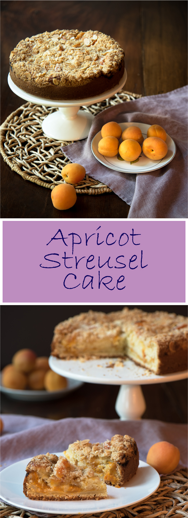 Apricot Streusel Cake. Apricot Streusel Cake is one of those back pocket dessert recipes that everyone needs. It is easy to make and as relaxed as a long summer weekend.