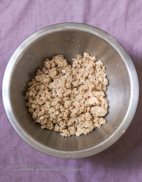 Ginger Plum and Pear Crisp recipe.