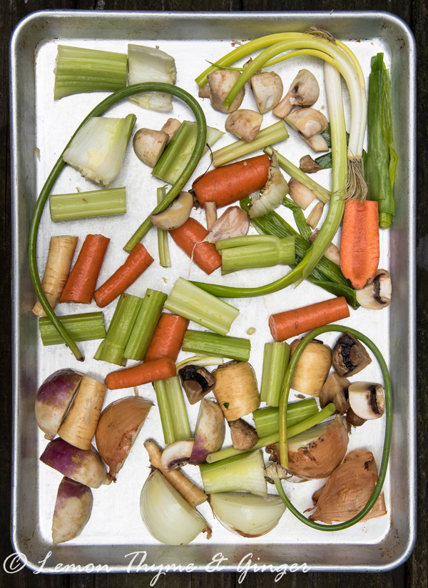 Roasted Vegetable Stock Recipe.