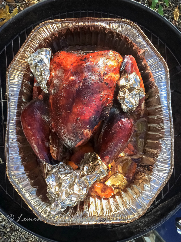 Hickory Smoked Turkey recipe.