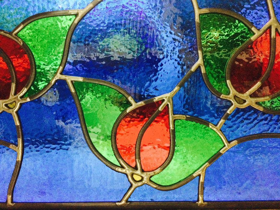 Original Glass Art by Louis Briffa