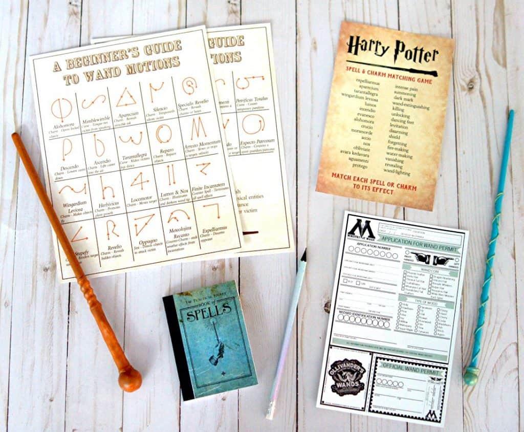 Free Harry Potter Popcorn Box Printables Two Sizes T