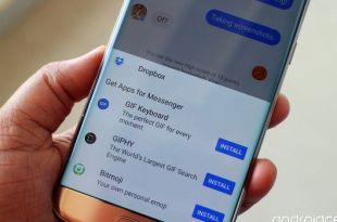 integrasi facebook messenger dan dropbox