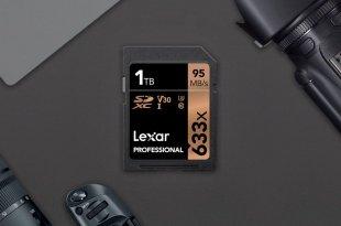 Kartu Memori SD Berkapasitas 1TB Pertama Didunia Dari Lexar,memori 1tb,cara menggabungkan memori, cara menggemat memori,cara hemat microSD,cara hemat kartu memori SD,lexar,lexar 1tb