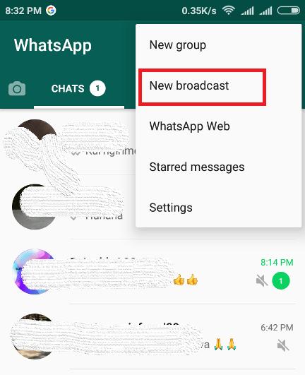 Cara Mudah Mengirim Pesan Ke Semua Kontak Whatsapp Di Android Lemoot