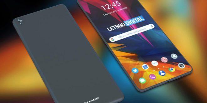 sharp foldable smartphone