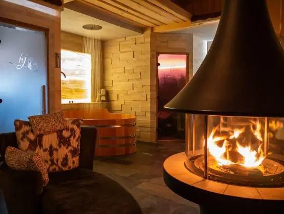 cheminee spa pour un espace detente