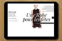rédaction lookbook 3Suisses réaction contenus éditoriaux Céline Plunian freelance 3Suisses
