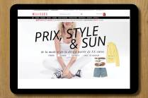 rédaction rédaction multicanal conception rédaction rédaction site internet rédaction de contenus éditoriaux Céline Plunian accroches 3Suisses