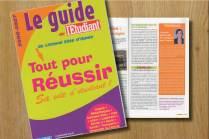 rédaction guide rédaction guide étudiant guide la voix l'étudiant Céline Plunian freelance 3Suisses