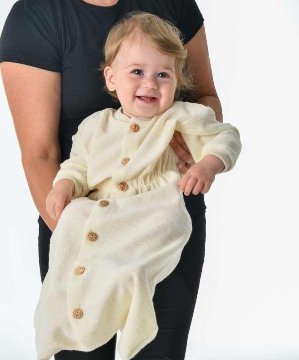 gigoteuse bébé laine bio