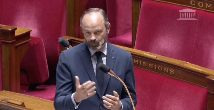Edouard Philippe Assemblée Nationale le 14 avril 2020