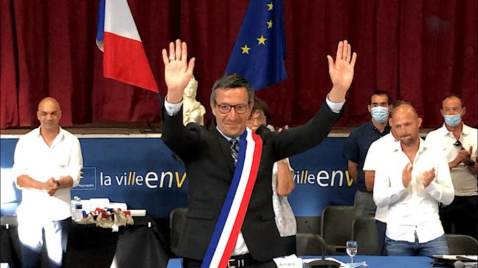 Michel Arrouy, maire de Frontignan 3 juillet 2020