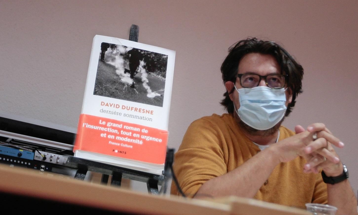 """Frontignan : David Dufresne présente """"Dernière Sommation"""", son premier roman"""